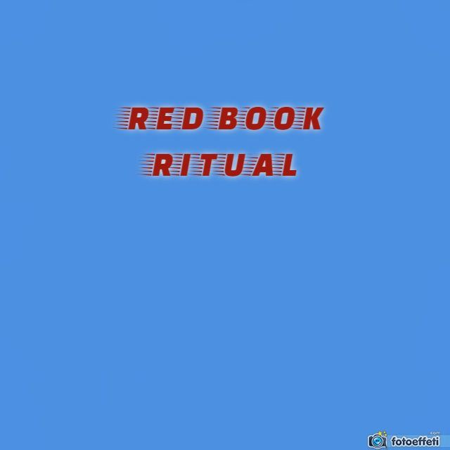 RED RITUAL BOOK - SCARY PARANORMAL GAME