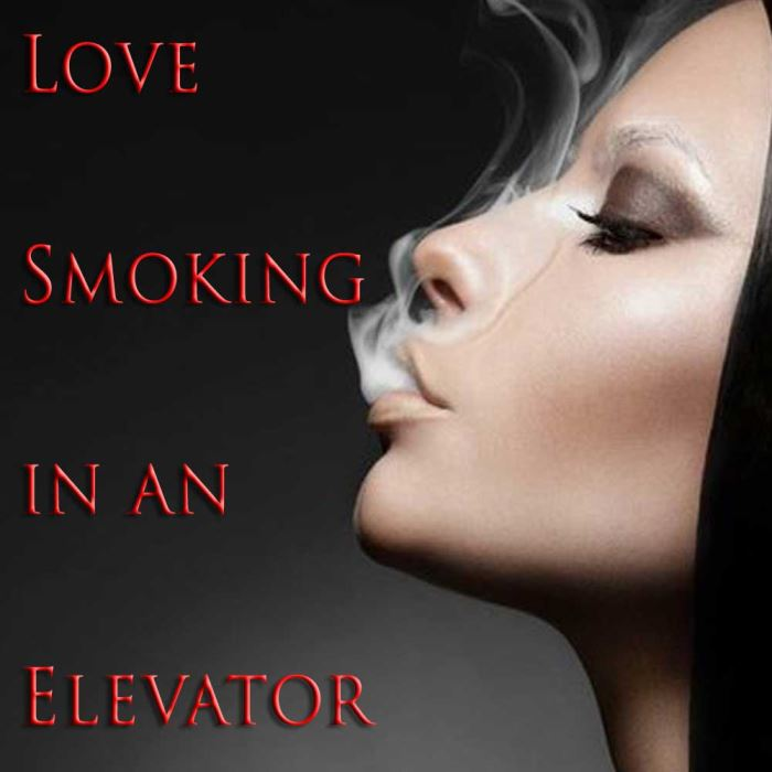Love Smoking in an Elevator