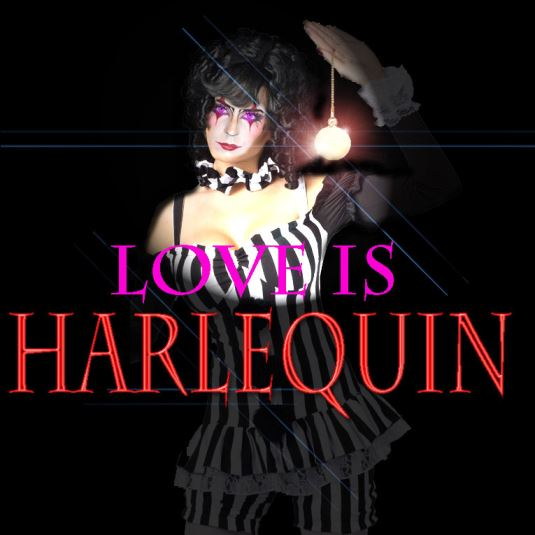 LOVE is HARLEQUIN