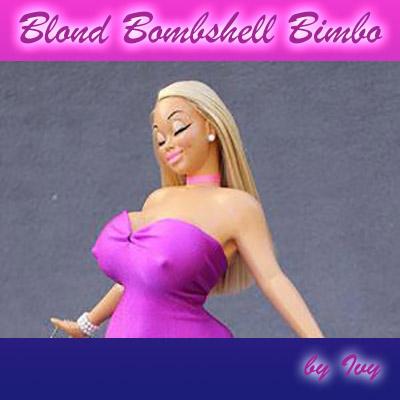 Blond Bombshell Bimbo