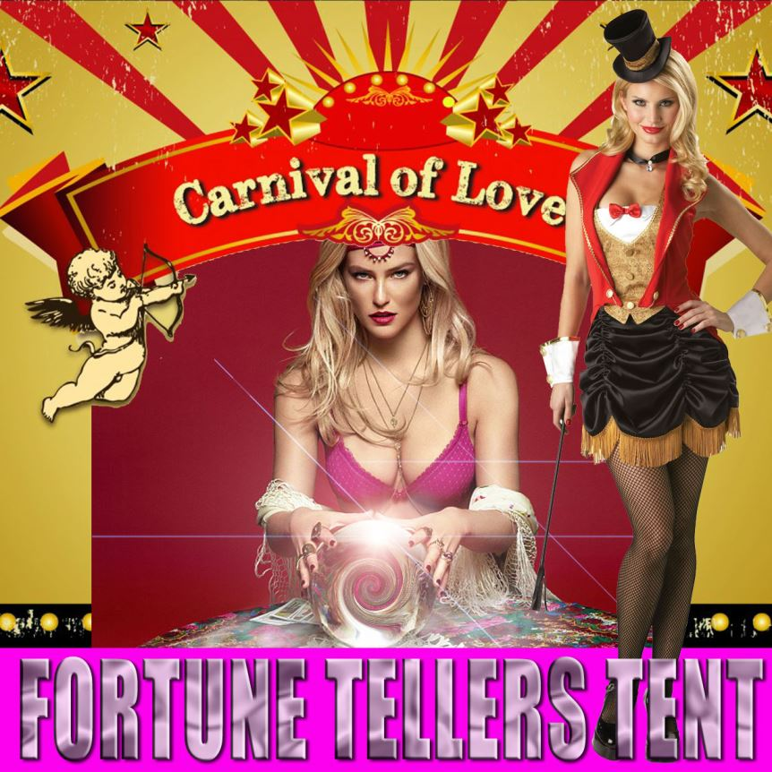 Carnival of LOVE Fortune Tellers Tent