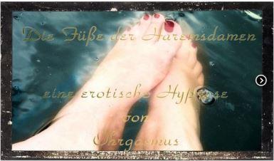 Die Füße der Haremsdamen