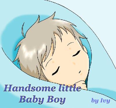 Handsome little Baby Boy