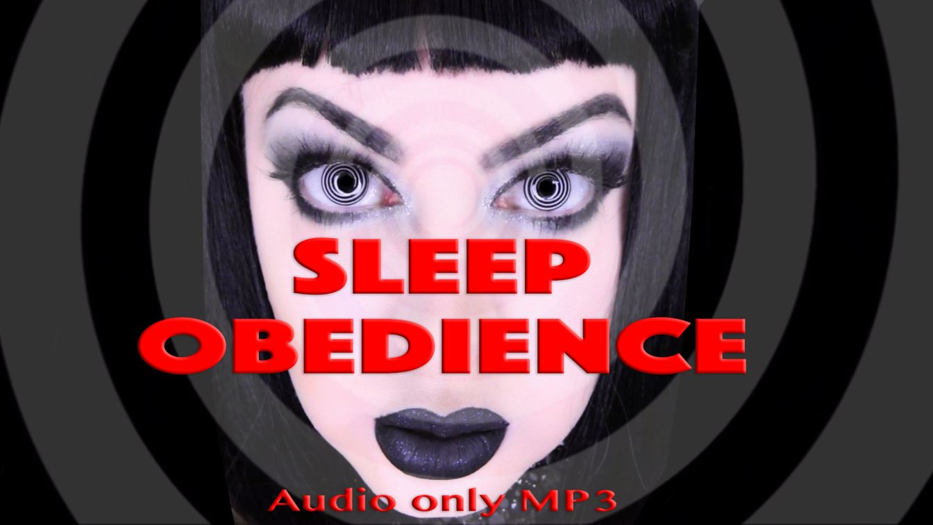 SLEEP OBEDIENCE- MP3 audio only