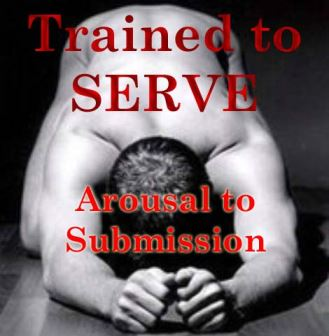 Trained to serve 4 - Arousal to submission