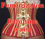 Feminization - small female waist